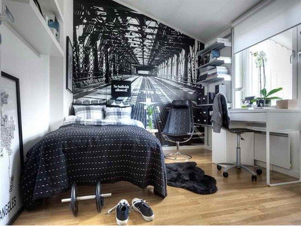 Фотография: Спальня в стиле Современный, Хай-тек, Малогабаритная квартира, Квартира, Советы – фото на INMYROOM
