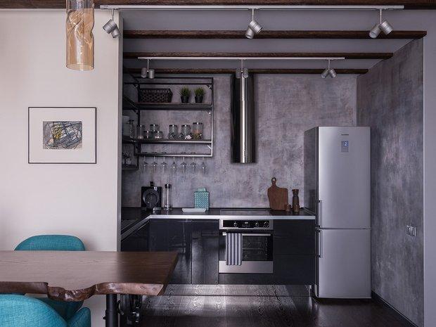 Фотография: Кухня и столовая в стиле Лофт, Советы, маленькая кухня, OBI, рабочая зона на кухне – фото на INMYROOM