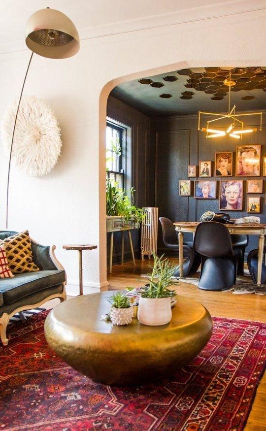 Фотография: Гостиная в стиле Эклектика, Современный, Стиль жизни, Советы – фото на INMYROOM