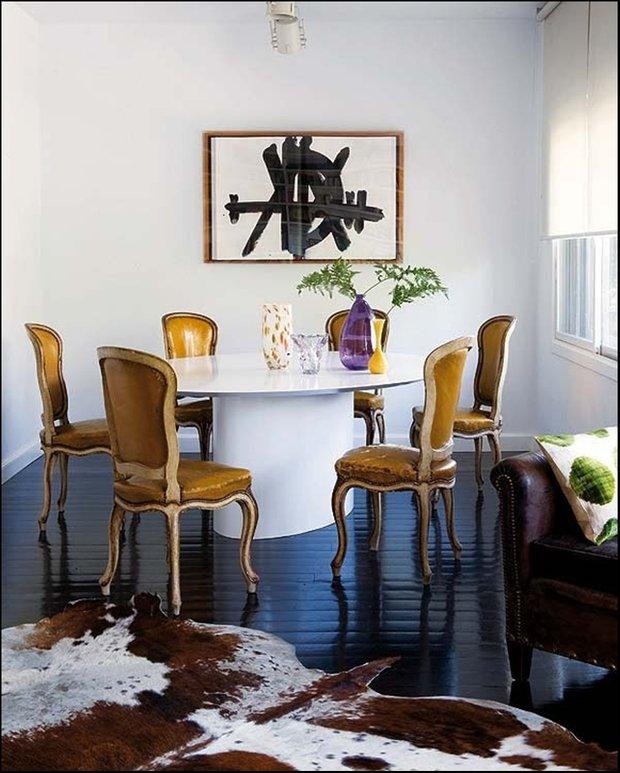 Фотография: Кухня и столовая в стиле Эклектика, Классический, Лофт, Современный, Декор интерьера, Мебель и свет, Советы, Минимализм – фото на INMYROOM