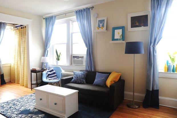Фотография: Гостиная в стиле Современный, Малогабаритная квартира, Квартира, Дома и квартиры, IKEA – фото на INMYROOM