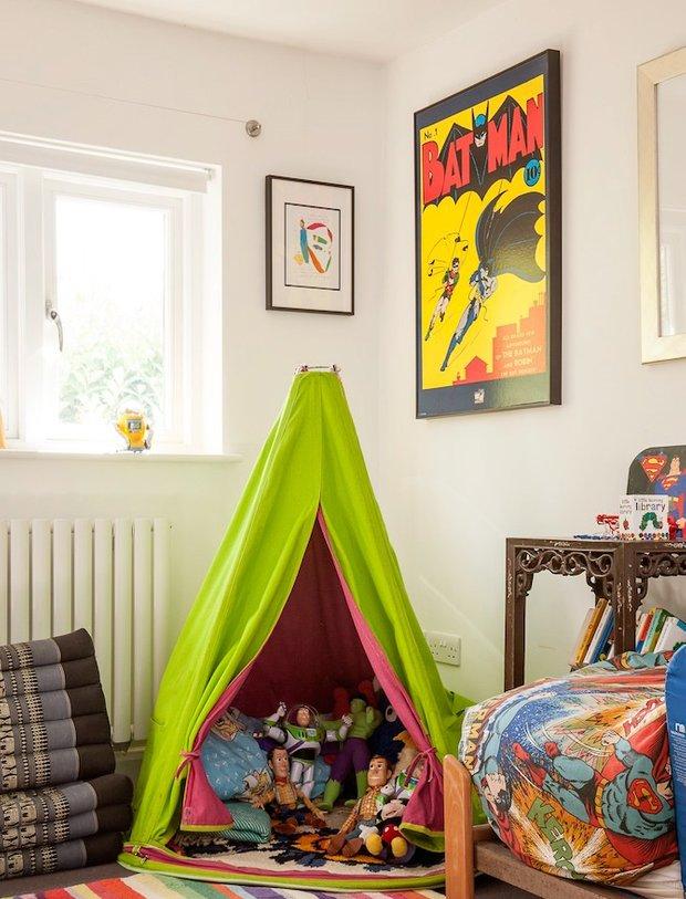 Фотография: Детская в стиле Скандинавский, Современный, Декор интерьера, Интерьер комнат, Цвет в интерьере, IKEA, Проект недели, Стены, Зеленый – фото на INMYROOM