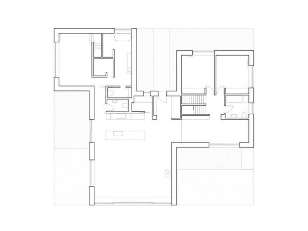 Фотография: Планировки в стиле , Современный, Дом, Белый, Минимализм, Серый, Дом и дача, Более 90 метров – фото на INMYROOM