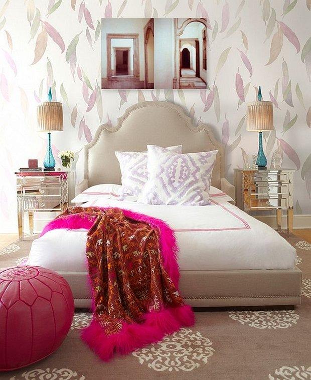 Фотография: Спальня в стиле Современный, Восточный, Декор интерьера, Декор, марроканский стиль в интерьере, марокканский стиль – фото на INMYROOM