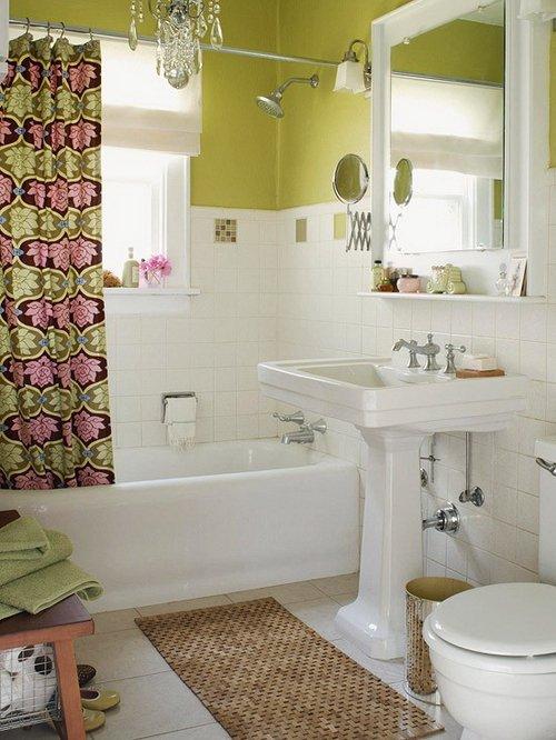 Фотография: Ванная в стиле Скандинавский, Современный, Интерьер комнат, Перепланировка – фото на INMYROOM