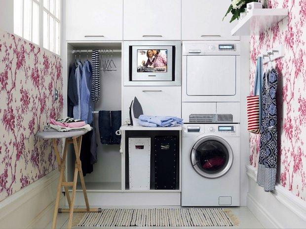 Фотография:  в стиле , Советы, постирочная в квартире – фото на INMYROOM