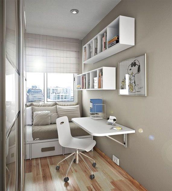 Фотография: Спальня в стиле Современный, Интерьер комнат, Хрущевка – фото на InMyRoom.ru