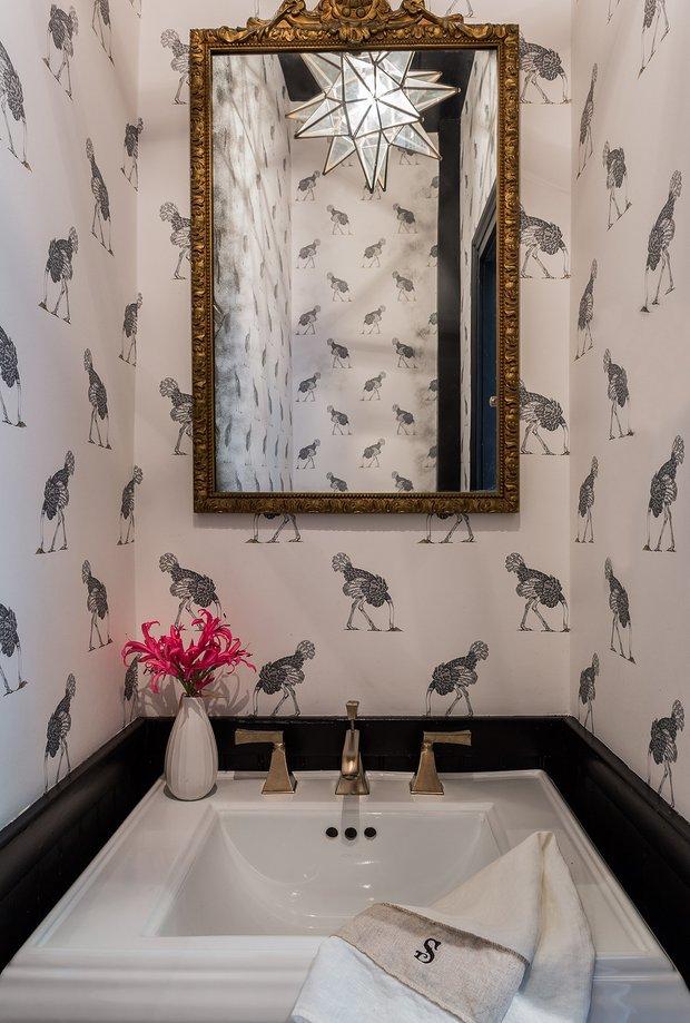 Фотография: Ванная в стиле Эклектика, Декор интерьера, Дом и дача, Таунхаус – фото на INMYROOM
