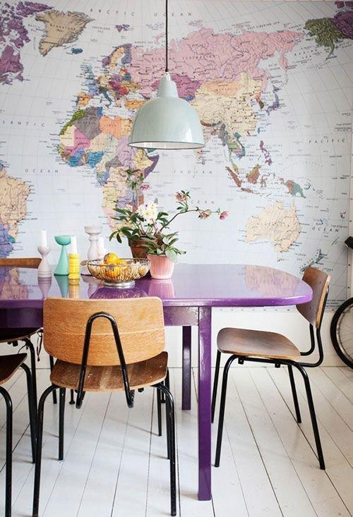 Фотография: Кухня и столовая в стиле Лофт, Кабинет, Интерьер комнат – фото на INMYROOM