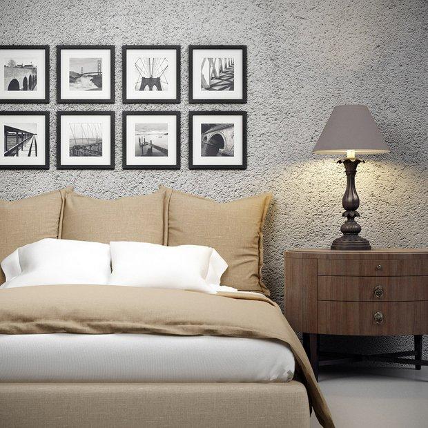Фотография: Спальня в стиле Прованс и Кантри, Декор интерьера, Декор дома, Цвет в интерьере, Постеры – фото на InMyRoom.ru