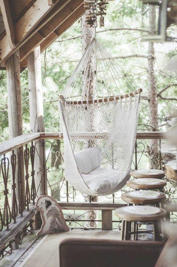 Фотография: Балкон, Терраса в стиле , Ландшафт, Стиль жизни, Дача – фото на INMYROOM