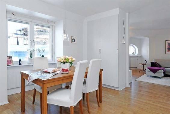Фотография: Кухня и столовая в стиле Скандинавский, Декор интерьера, Малогабаритная квартира, Квартира, Дома и квартиры – фото на INMYROOM