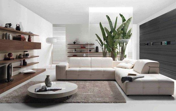 Фотография: Гостиная в стиле Современный, Цвет в интерьере, Стиль жизни, Советы, Белый – фото на INMYROOM