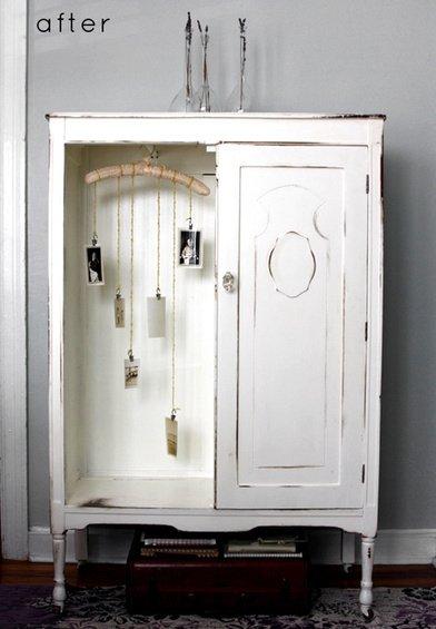 Фотография:  в стиле , Кухня и столовая, Декор интерьера, DIY, Мебель и свет, Переделка, Кресло, Диван, Люстра, Комод, Зеркало, Стул, Холодильник, идеи переделки старой мебели, переделка старой мебели фото – фото на INMYROOM