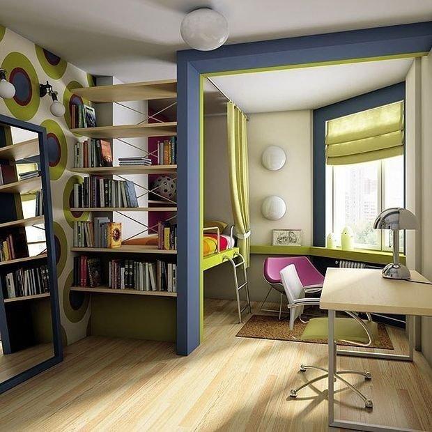 Фотография: Детская в стиле Современный, Декор интерьера, Малогабаритная квартира, Квартира, Дом, Планировки – фото на INMYROOM