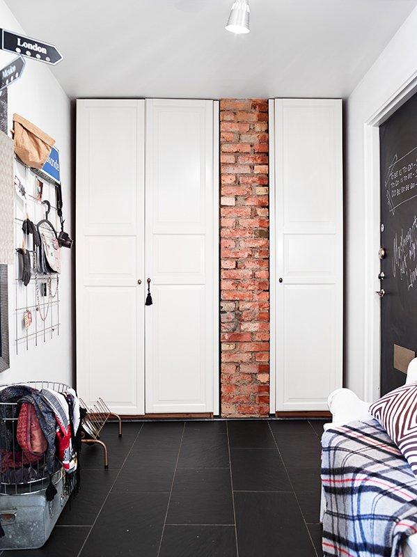 Фотография: Декор в стиле Современный, Скандинавский, Малогабаритная квартира, Квартира, Дома и квартиры – фото на INMYROOM