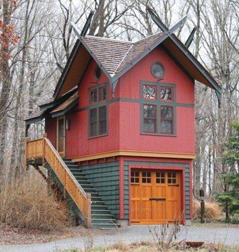 Фотография: Архитектура в стиле , Малогабаритная квартира, Дом, Дома и квартиры, дизайн маленького дома, маленькие дома фото, маленькие красивые дома, проекты маленьких домов – фото на INMYROOM