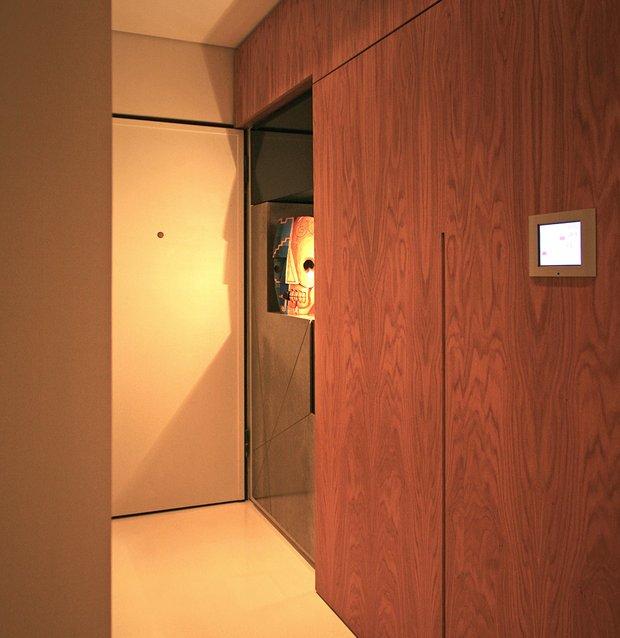 Фотография:  в стиле Современный, Малогабаритная квартира, Квартира, Дома и квартиры – фото на INMYROOM
