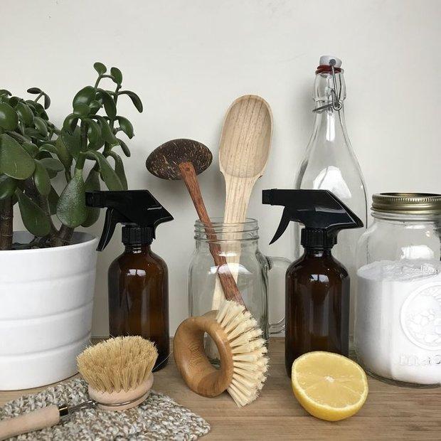 Фотография:  в стиле , Советы, уборка дома, уборка на кухне, аллергия, чем опасна губка, тряпка для уборки – фото на INMYROOM