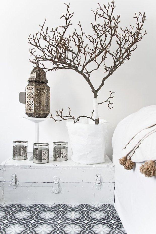Фотография: Спальня в стиле Скандинавский, Классический, Современный, Эклектика, Декор интерьера, Декор, Минимализм – фото на INMYROOM