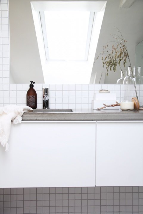 Фотография: Ванная в стиле Скандинавский, Современный, Кухня и столовая, Интерьер комнат, Тема месяца – фото на INMYROOM