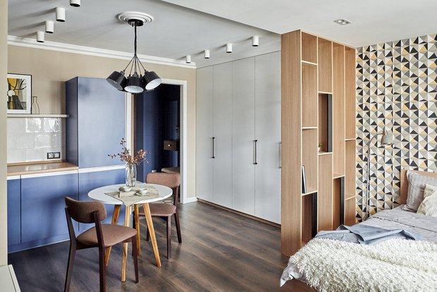 Фотография: Спальня в стиле Современный, Советы, Гид, хранение в квартире, однушка – фото на INMYROOM