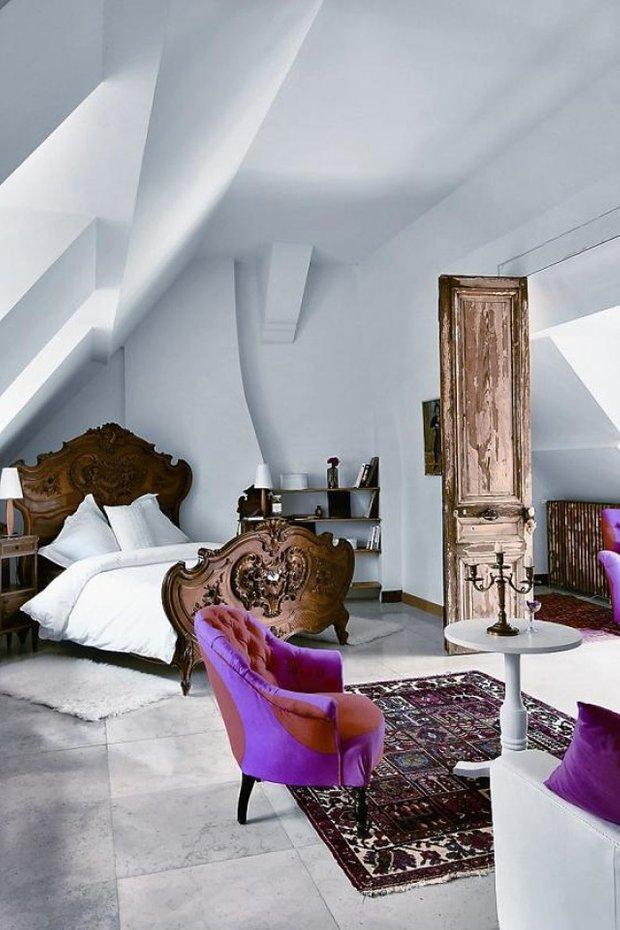 Фотография: Спальня в стиле Прованс и Кантри, Современный, Декор интерьера, Дизайн интерьера, Цвет в интерьере – фото на INMYROOM