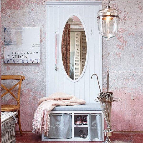 Фотография: Прихожая в стиле , Декор интерьера, Дизайн интерьера, Цвет в интерьере, Белый – фото на INMYROOM