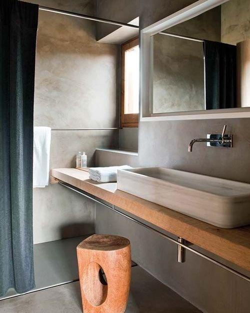 Фотография: Ванная в стиле Лофт, Минимализм, Декор интерьера, Квартира, Декор, Советы, раковина, раковина в ванной – фото на INMYROOM