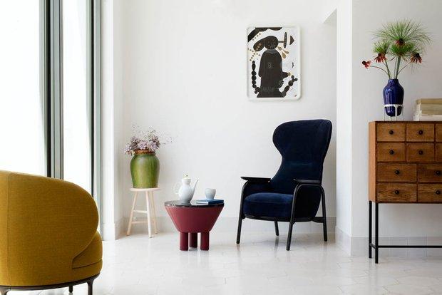 Фотография: Гостиная в стиле Эклектика, Интервью, Правила дизайна, Хайме Айон – фото на INMYROOM