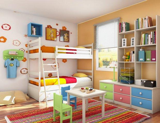 Фотография: Детская в стиле Современный, Декор, Советы, Нина Романюк, порядок в детской, как навести порядок в детской, как привлечь ребенка к уборке вещей – фото на InMyRoom.ru
