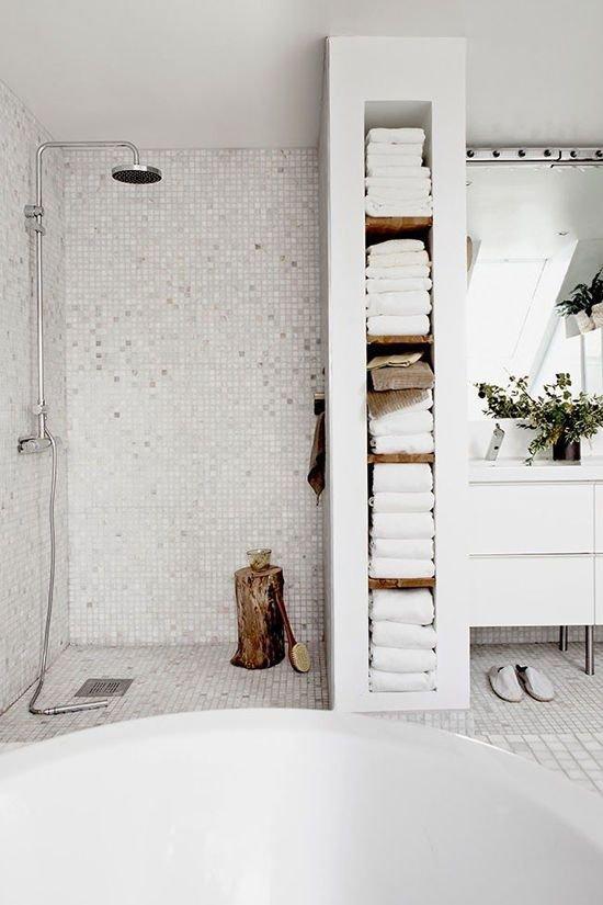Фотография: Ванная в стиле Скандинавский, Стиль жизни, Советы, Эко – фото на INMYROOM