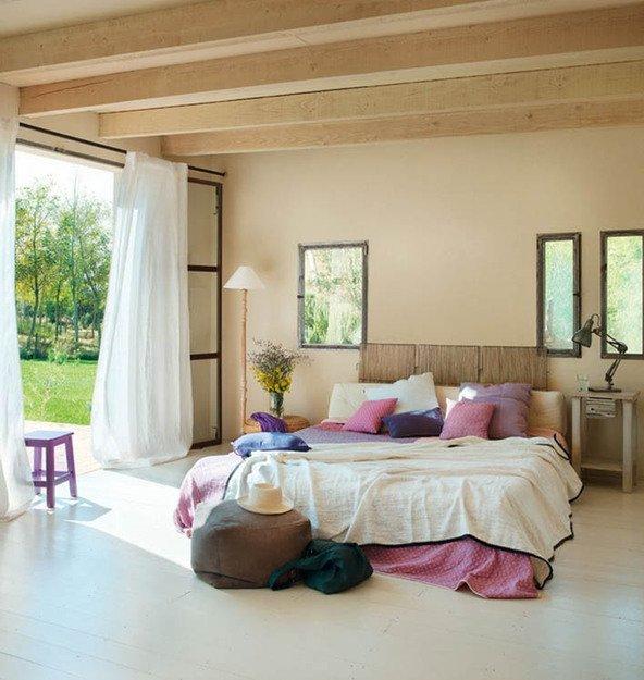 Фотография: Спальня в стиле Прованс и Кантри, Эко, Интерьер комнат, Советы – фото на INMYROOM