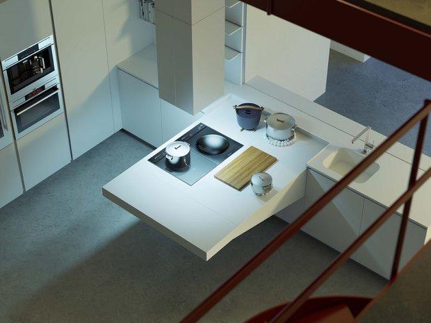 Фотография: Кухня и столовая в стиле Современный, Хай-тек, Интерьер комнат – фото на INMYROOM