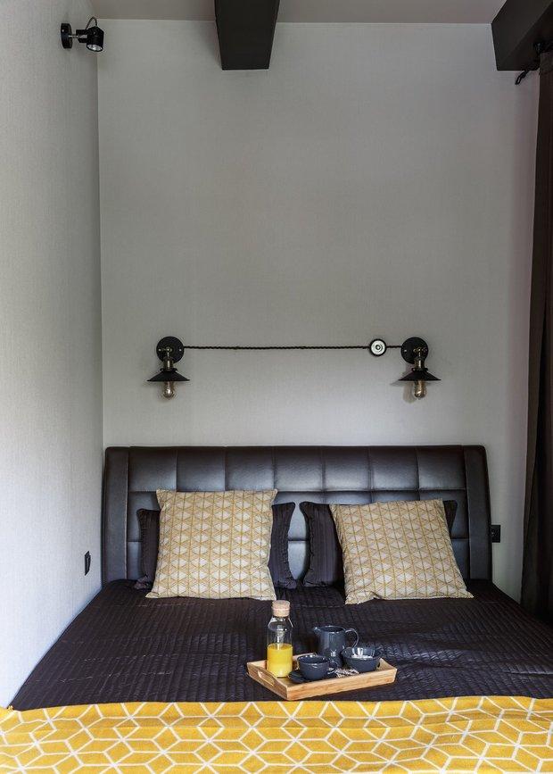 Фотография:  в стиле , Гостиная, Спальня, Квартира, Студия, Гид, 1 комната – фото на INMYROOM