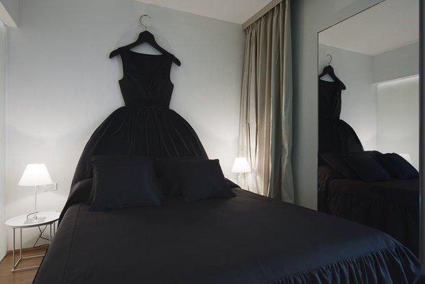 Фотография: Спальня в стиле Современный, Эклектика, Интерьер комнат – фото на INMYROOM