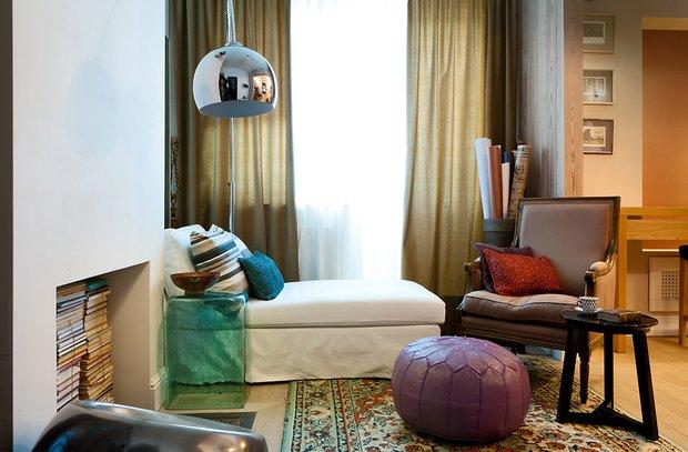 Фотография: Спальня в стиле Скандинавский, Малогабаритная квартира, Советы, Ирина Крашенинникова – фото на INMYROOM