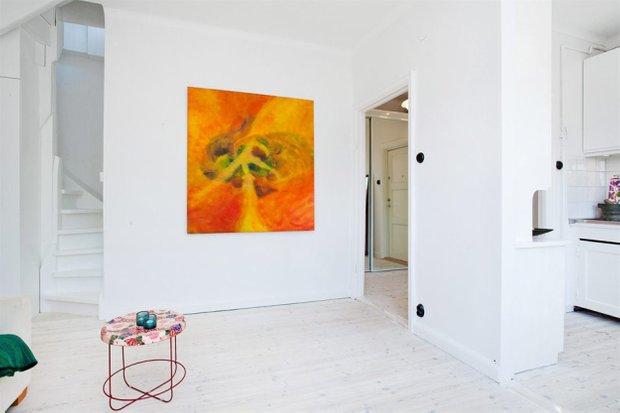 Фотография: Прихожая в стиле Скандинавский, Лофт, Малогабаритная квартира, Квартира, Дома и квартиры – фото на INMYROOM
