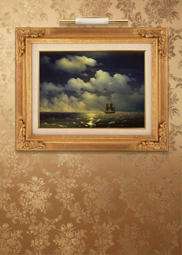 Фотография: Прочее в стиле , Гостиная, Интерьер комнат, Картины, Зеркало – фото на INMYROOM