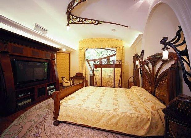Фотография: Спальня в стиле Классический, Декор интерьера, Модерн, модерн в интерьере – фото на InMyRoom.ru