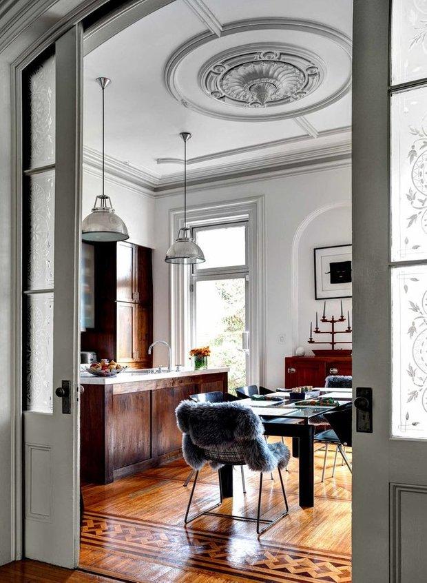 Фотография: Кухня и столовая в стиле Скандинавский, Эклектика, Ремонт на практике – фото на INMYROOM