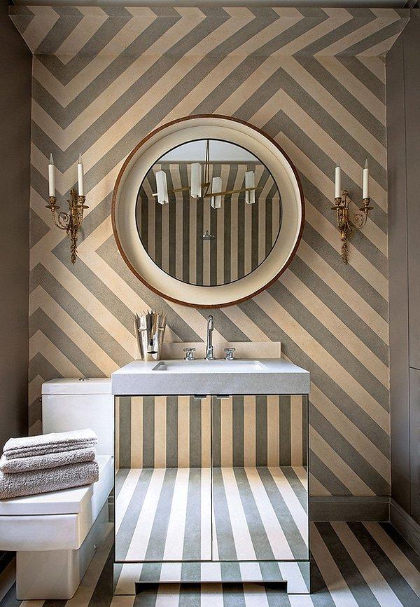 Фотография: Ванная в стиле Современный, Малогабаритная квартира, Квартира, Франция, Дома и квартиры, Париж – фото на INMYROOM