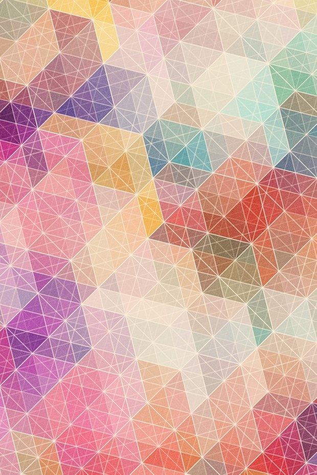 Фотография: Прочее в стиле , Индустрия, Новости, Обои, Геометрия в интерьере – фото на InMyRoom.ru