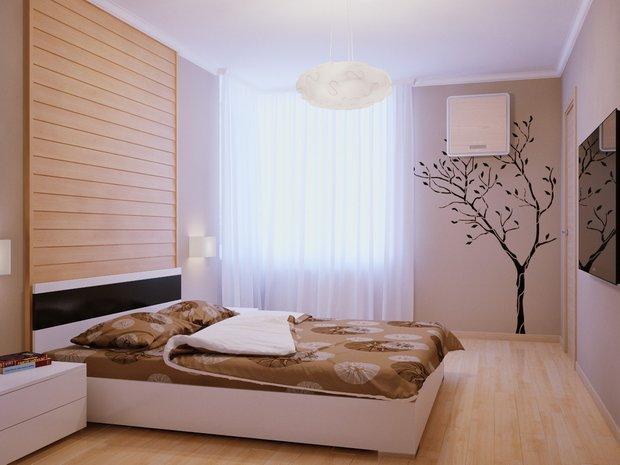 Фотография: Спальня в стиле Современный, Эко, Квартира, Советы, Ремонт на практике – фото на InMyRoom.ru