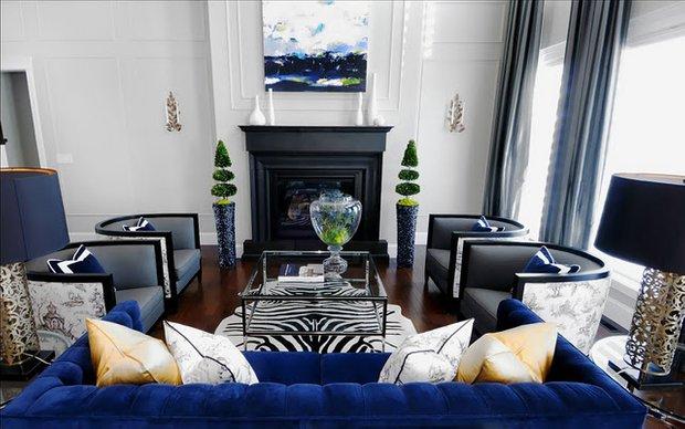 Фотография: Гостиная в стиле Эклектика, Декор интерьера, Текстиль, Декор, Текстиль – фото на INMYROOM