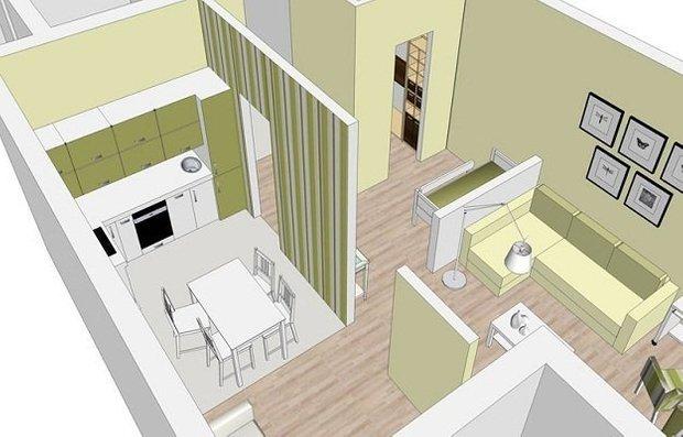 Фотография: Прочее в стиле , Малогабаритная квартира, Квартира, Дома и квартиры – фото на INMYROOM