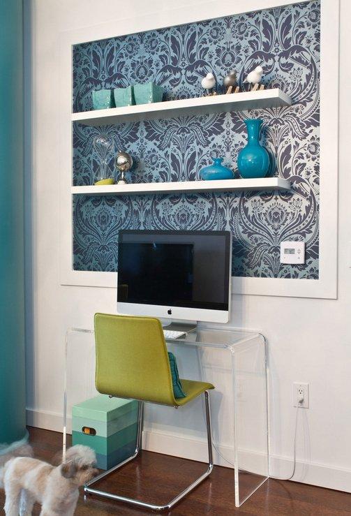 Фотография: Офис в стиле Современный, Декор интерьера, DIY, Обои – фото на INMYROOM