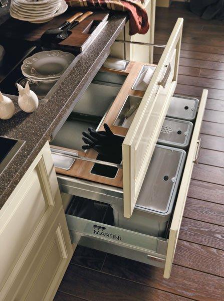 Фотография: Кухня и столовая в стиле Прованс и Кантри, Современный, Интерьер комнат – фото на InMyRoom.ru