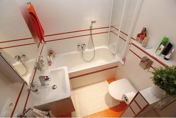 Фотография: Ванная в стиле , Малогабаритная квартира, Квартира, Индустрия, События – фото на INMYROOM