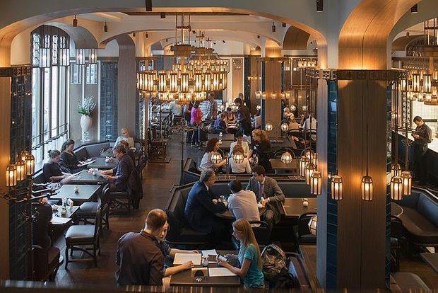 Фотография:  в стиле , Москва, Ресторан, Обзоры, Интересное место – фото на INMYROOM
